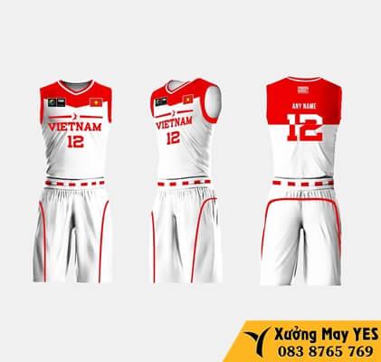 may đồng phục bóng rổ giá rẻ