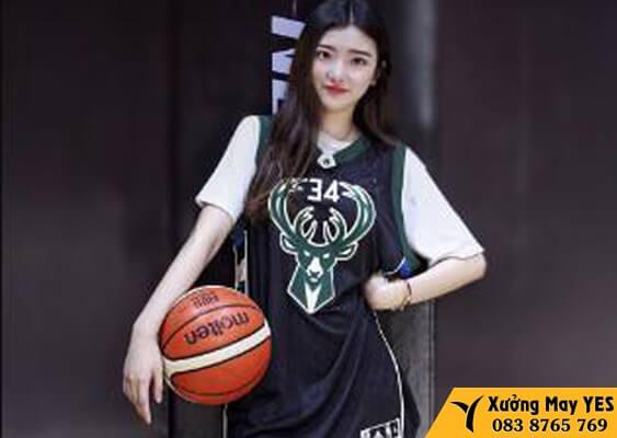 xưởng may đồng phục bóng rổ nữ