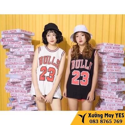 xưởng may đồng phục bóng rổ nữ đẹp