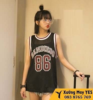 xưởng may đồng phục bóng rổ nữ cao cấp