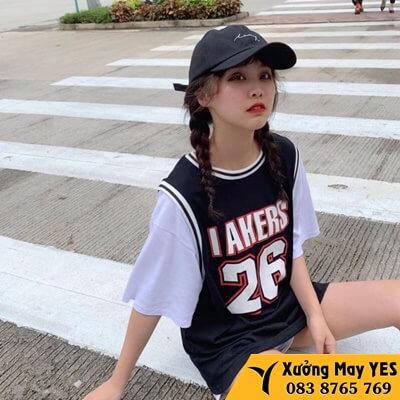 may đồng phục bóng rổ nữ