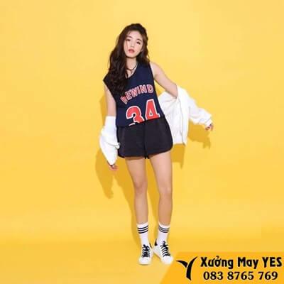 đồng phục bóng rổ nữ giá rẻ