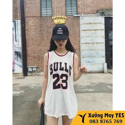 đồng phục bóng rổ nữ đẹp