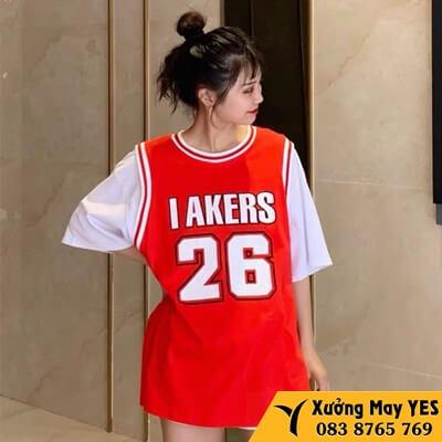 đồng phục bóng rổ nữ