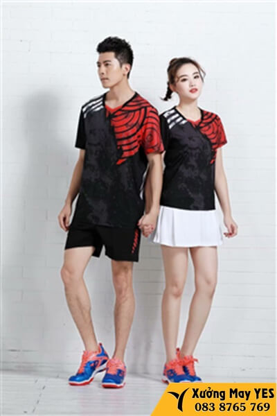 may quần áo tennis quần vợt