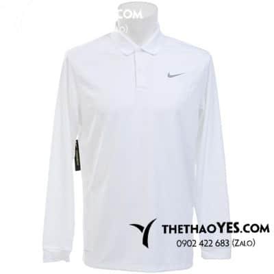 xưởng may áo golf nam dài tay