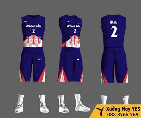 xưởng may đồng phục bóng rổ việt nam giá rẻ