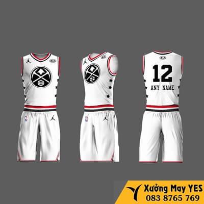 đồng phục bóng rổ việt nam chất lượng