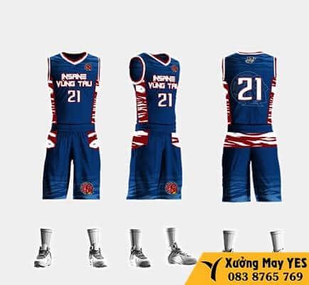 may đồng phục bóng rổ việt nam giá rẻ