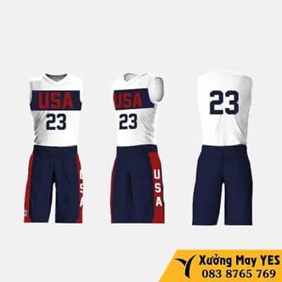 đồng phục bóng rổ việt nam giá rẻ