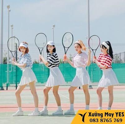 quần áo tennis xuất khẩu rẻ