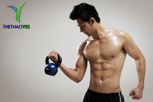 Tập gym tăng cường sinh lý
