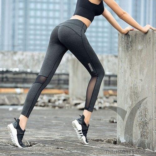 quần legging thun gân