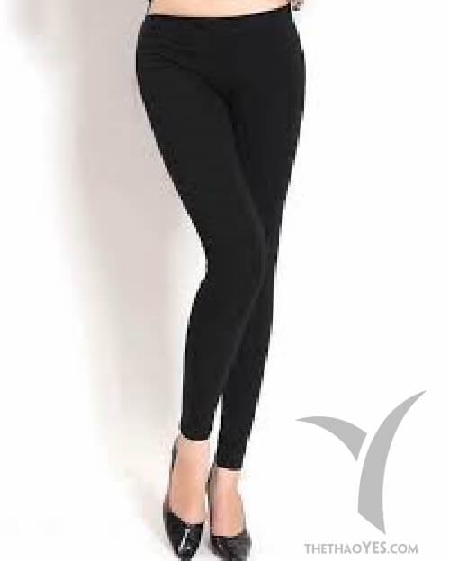 quần legging phối với áo thun