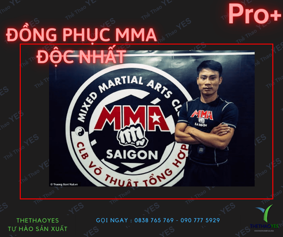 may đồng phục thể thao MMA
