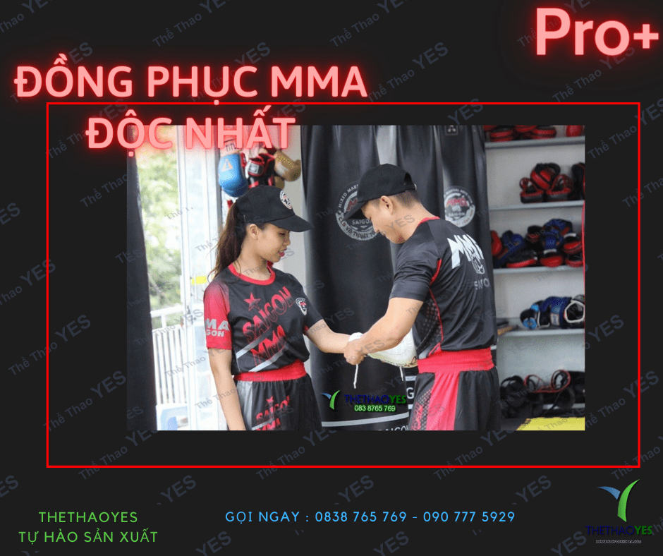 may đồng phục mma cao cấp