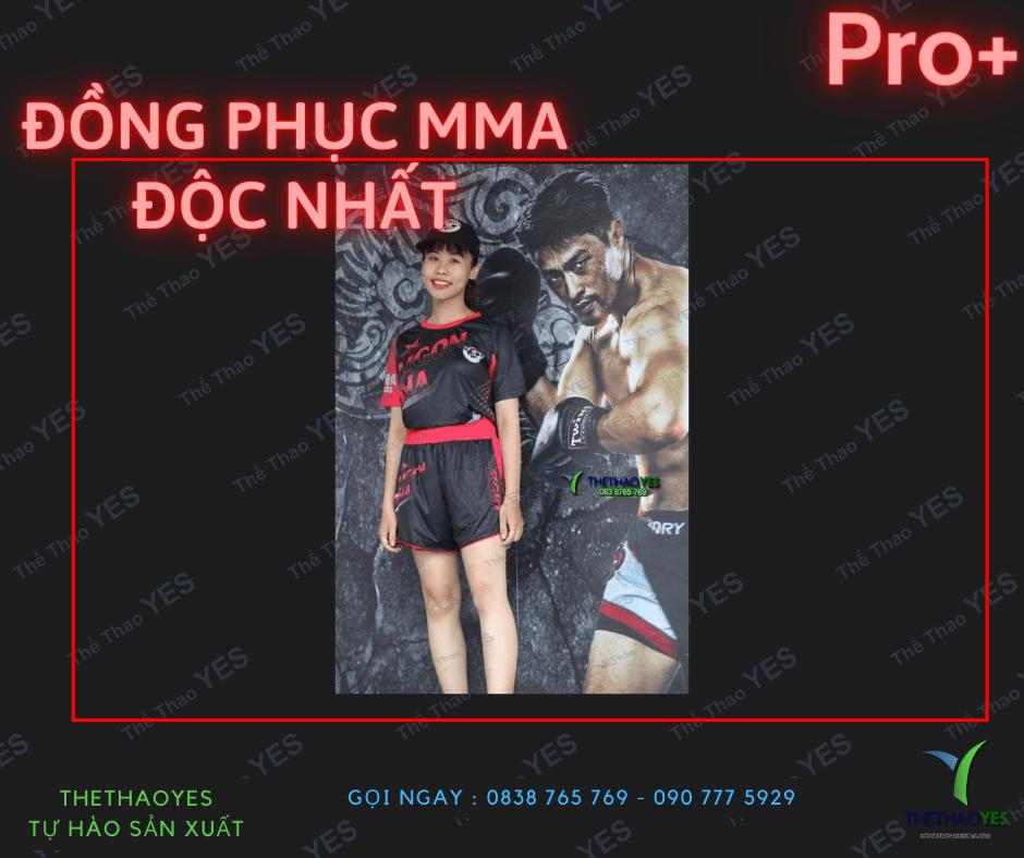 nhận may áo đồng phục MMA