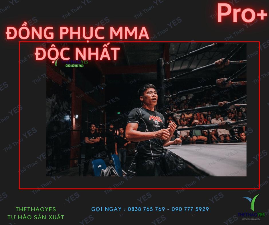ĐỒNG PHỤC PT MMA