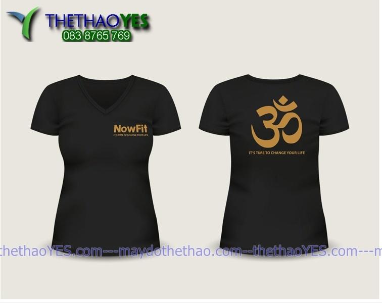 may áo thun đồng phục yoga cao cấp