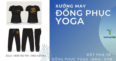 đồng phục yoga đẹp